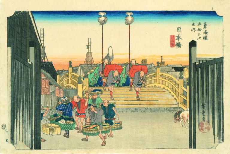 日本橋 朝之景