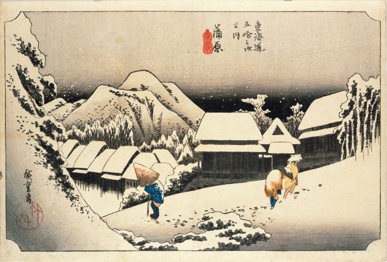 蒲原 夜之雪