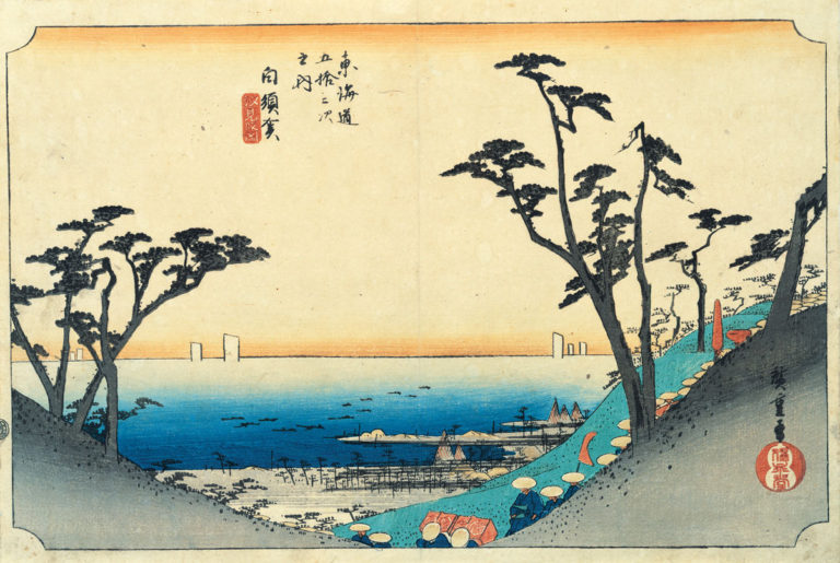 白須賀 汐見阪図